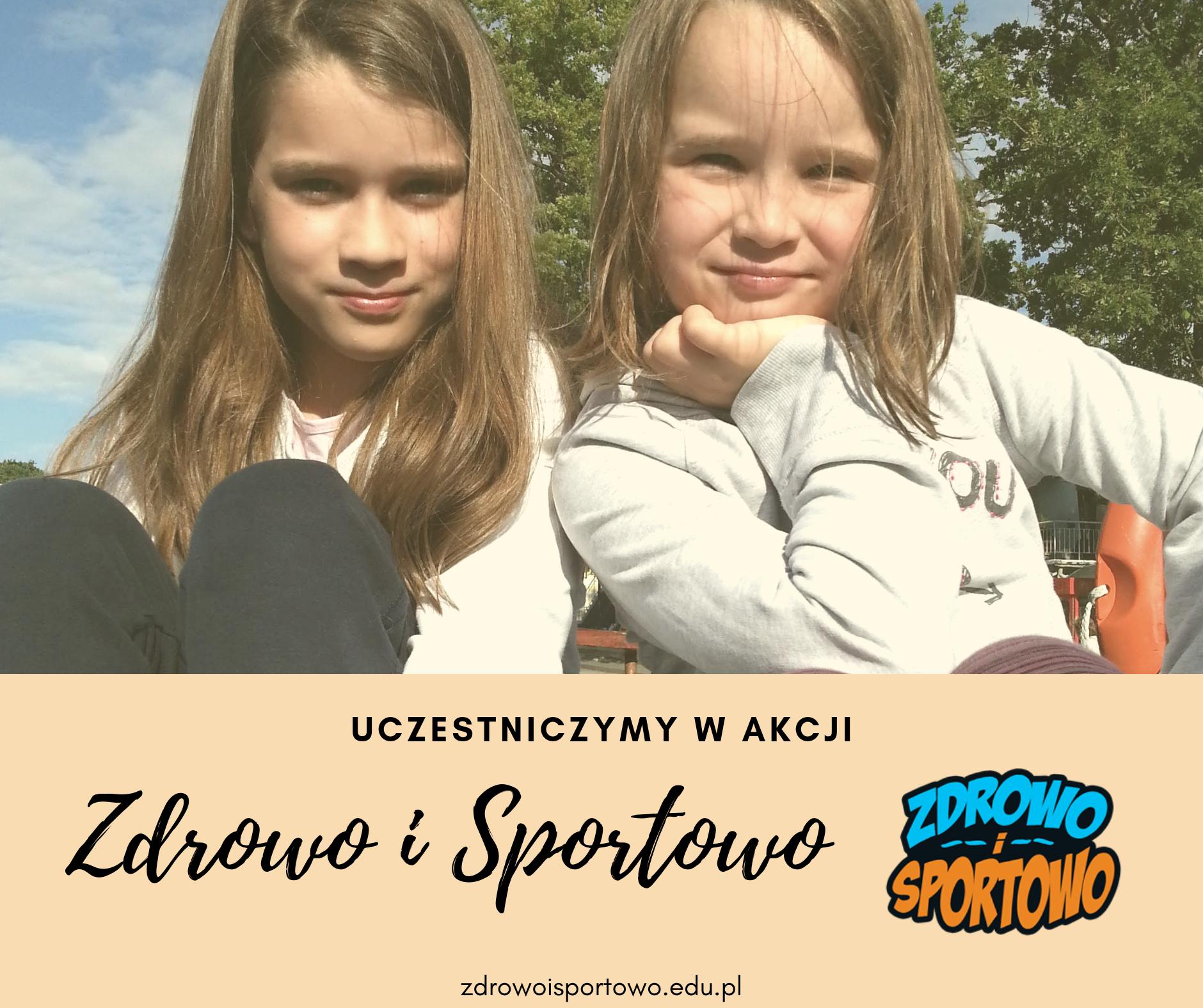 """Motylki biorą udział w akcji """"Zdrowo i Sportowo"""". Organizatorem akcji jest Kids&Sport – Spółka z o.o."""