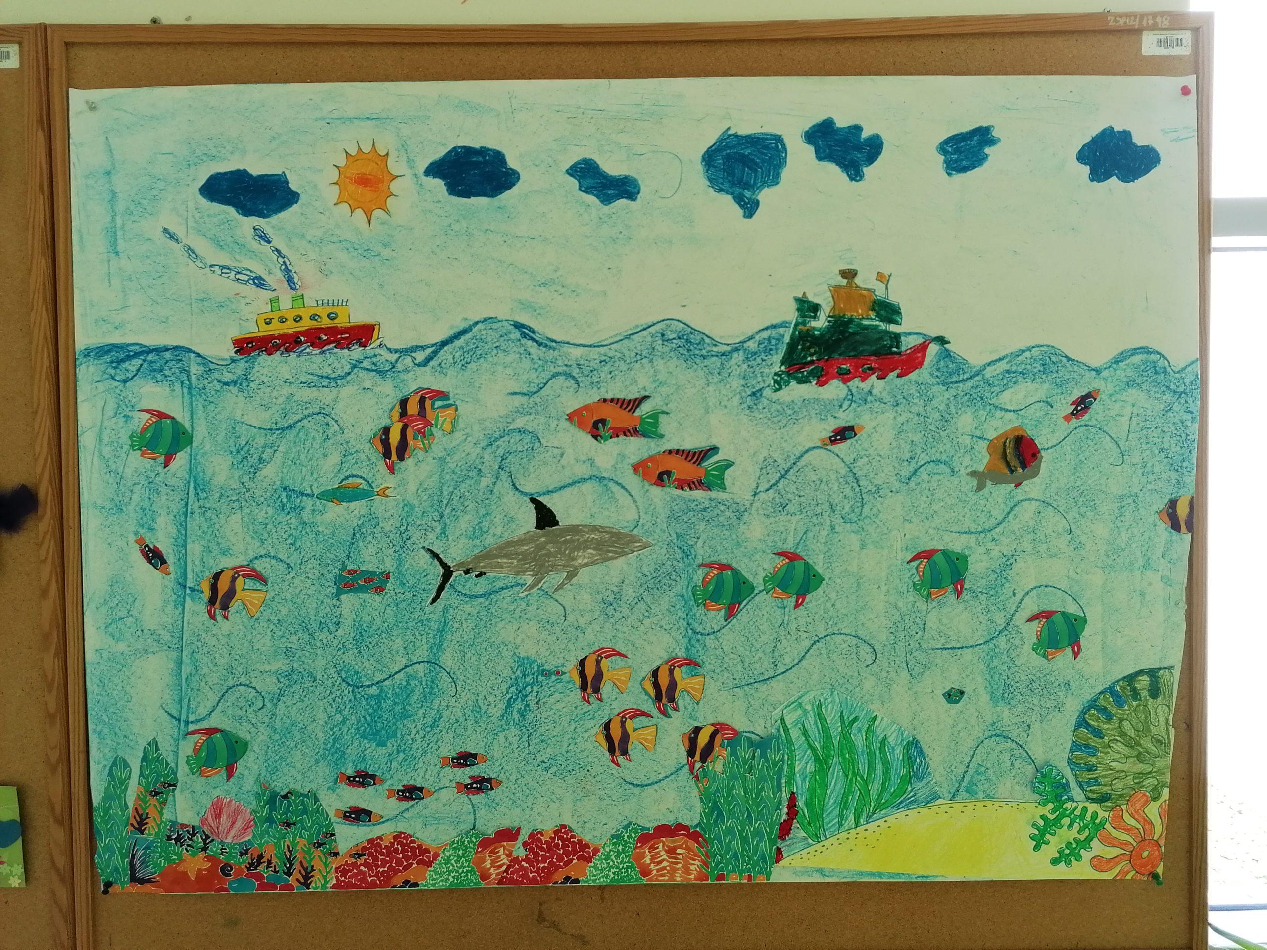 """""""Morze"""" – grupowa praca plastyczna"""