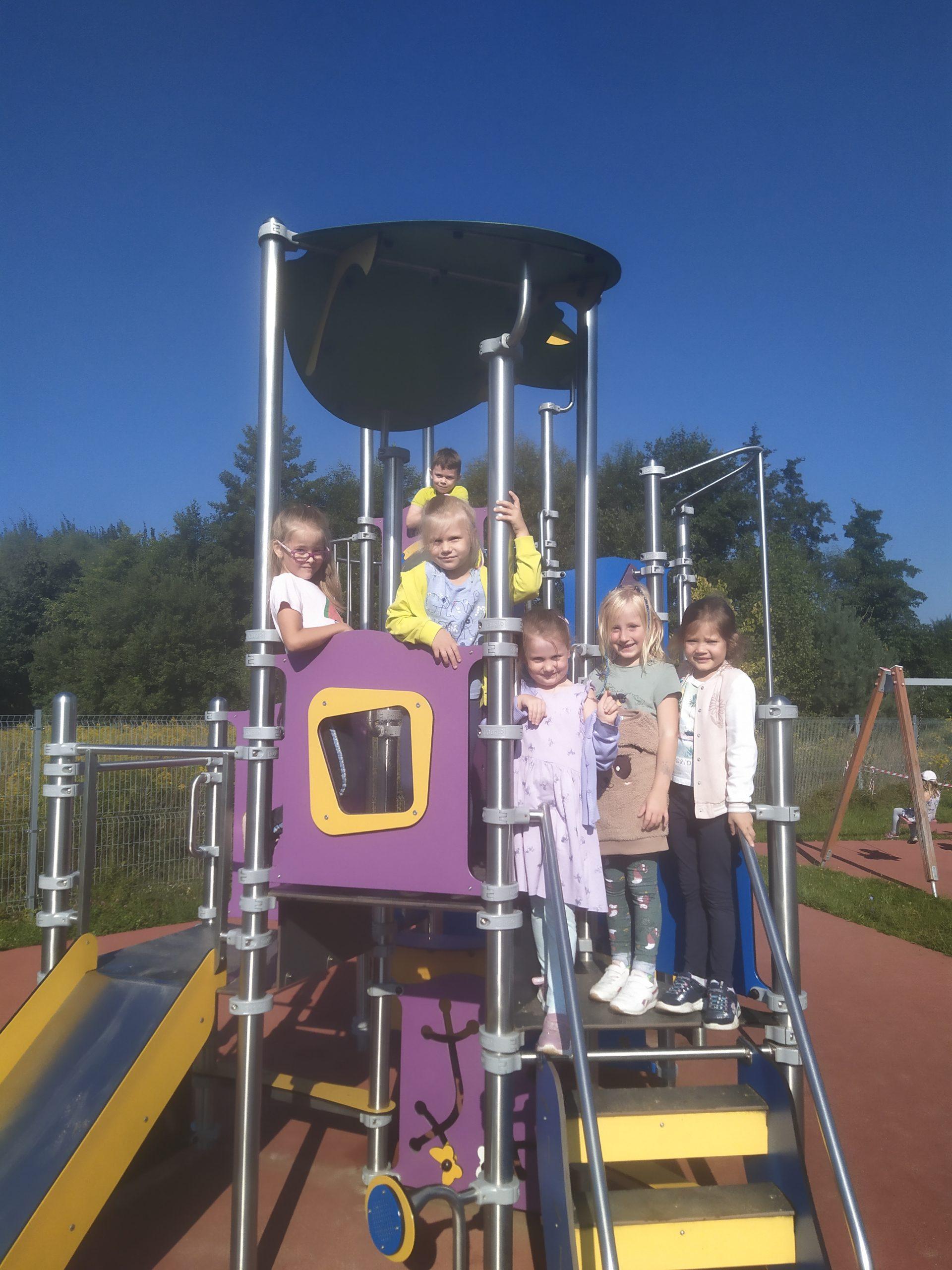 Zabawy w ogrodzie przedszkolnym :)