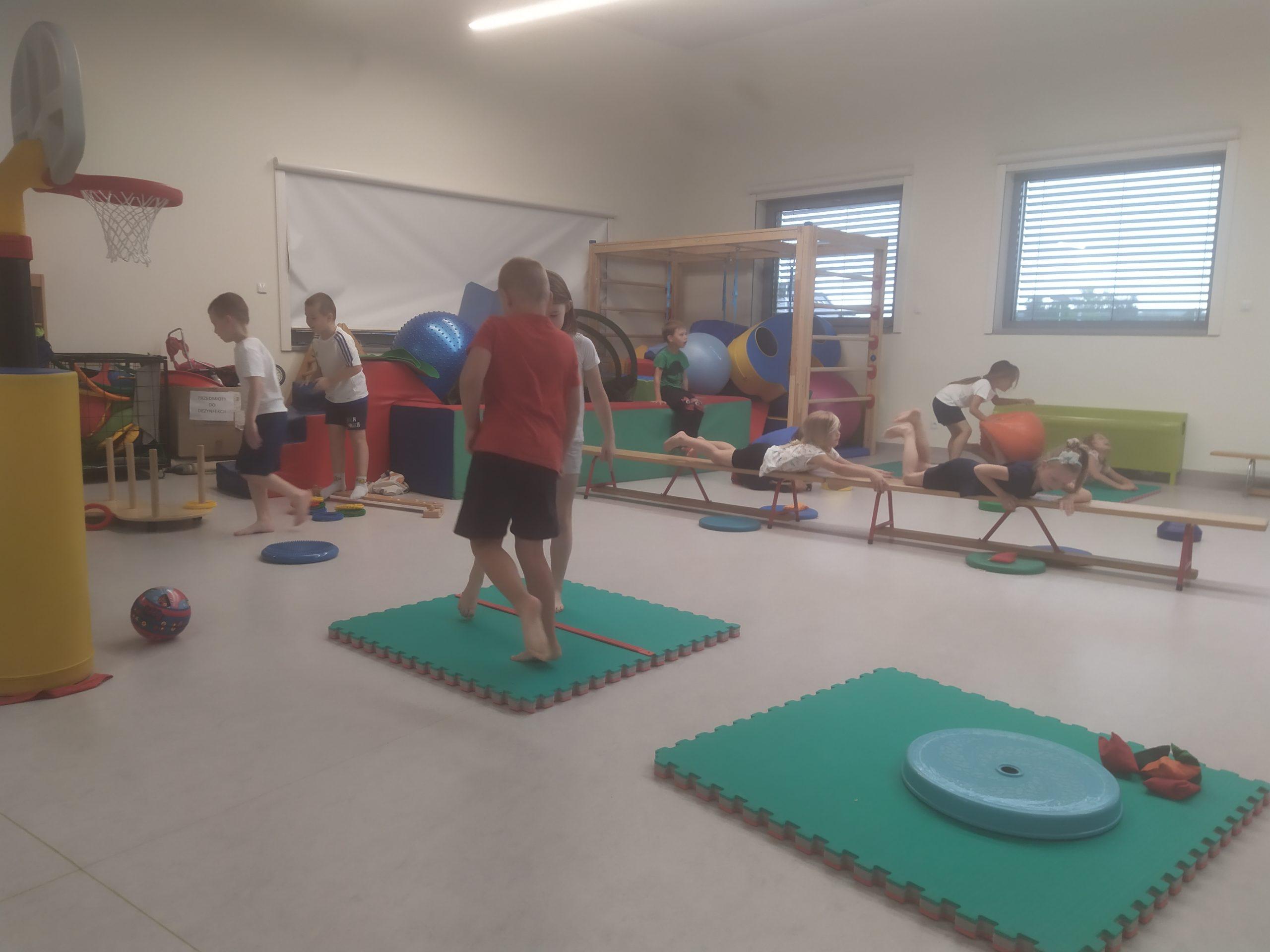 Gimnastyka z Panem Kamilem