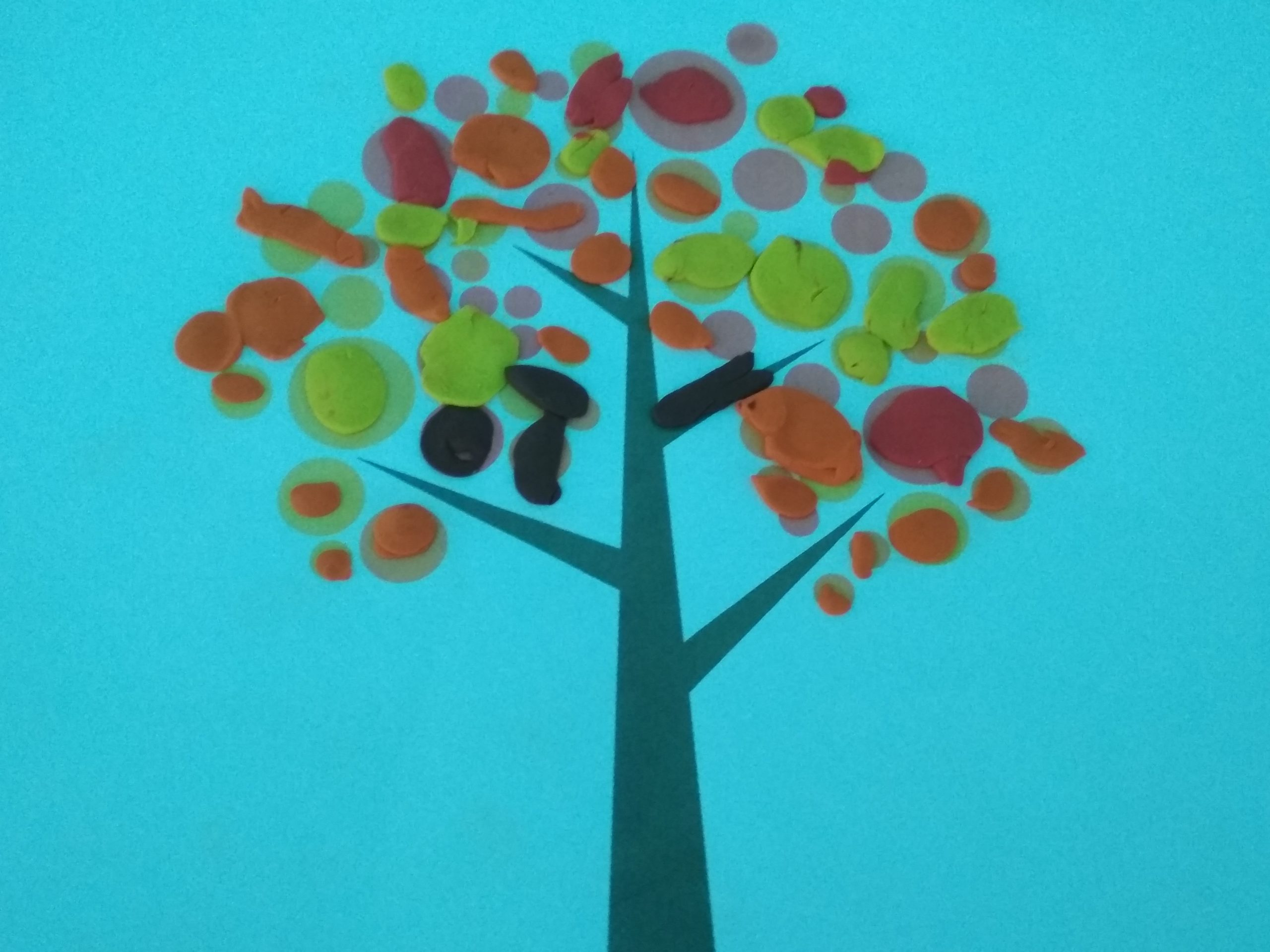 Jesienne drzewa 23.09.2021